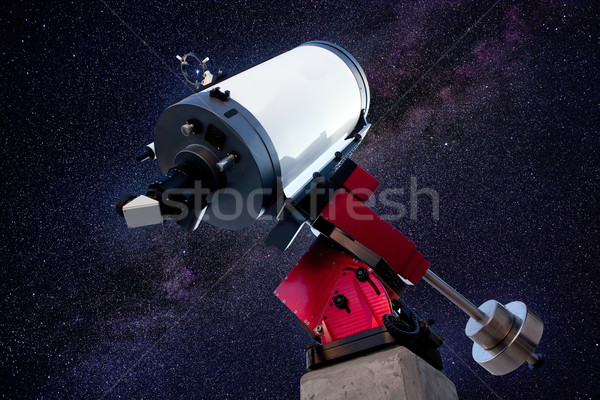 astronomical observatory telescope stars night Stock photo © lunamarina