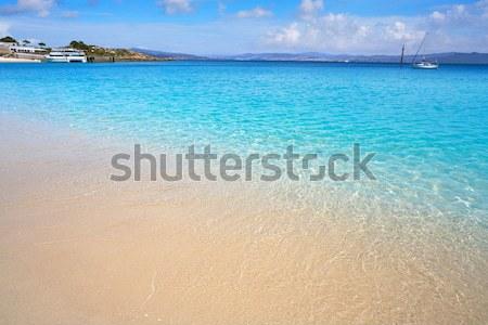 Stock photo: Beach Las Teresitas in Santa cruz de Tenerife north