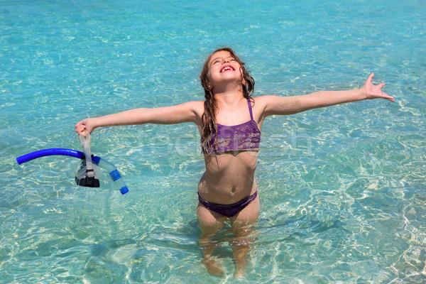 Foto stock: Agua · agua · playa · abierto · armas · bikini