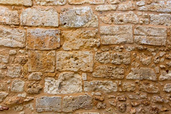 Château maçonnerie mur texture antique construction Photo stock © lunamarina