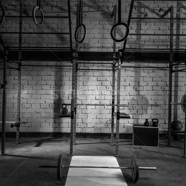 Stok fotoğraf: Spor · salonu · kimse · çubuklar · dişli · uygunluk