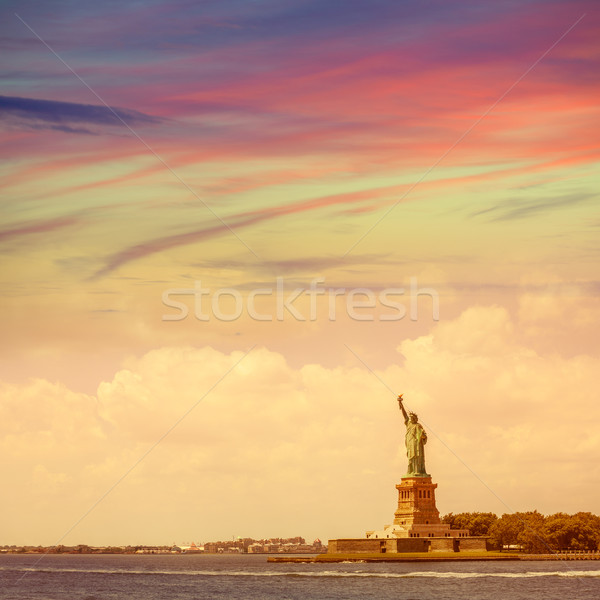 Statue of Liberty New York American Symbol US Stock photo © lunamarina