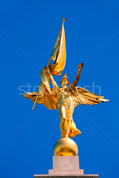 Arany győzelem szobor világ háború Washington DC Stock fotó © lunamarina