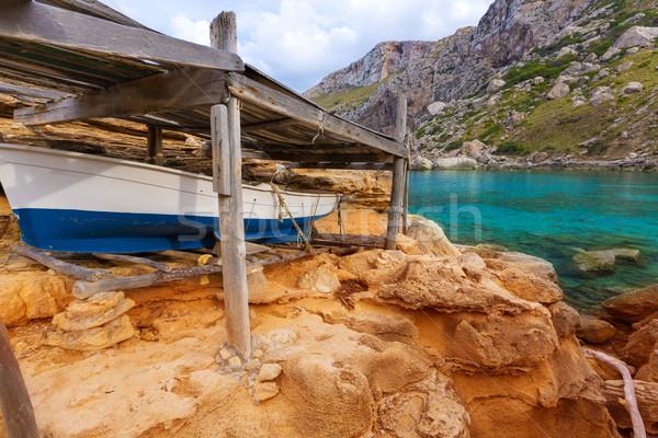 Majorca Cala Figuera beach of Formentor Mallorca Stock photo © lunamarina