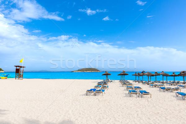 Mallorca praia Espanha natureza paisagem Foto stock © lunamarina