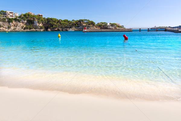 Praia mallorca ilha Espanha paisagem oceano Foto stock © lunamarina