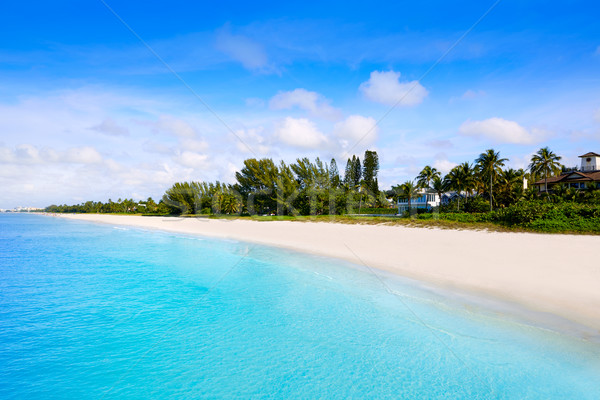 Napoli plaj Florida ABD mavi Stok fotoğraf © lunamarina
