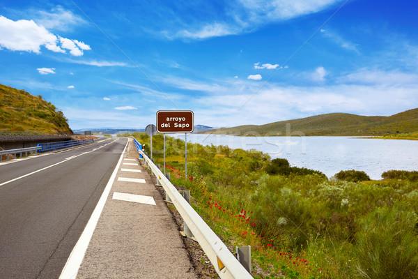 Tajo river Spain Extremadura by Via de la Plata Stock photo © lunamarina