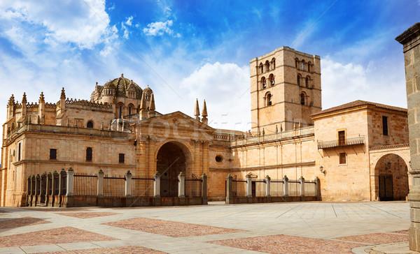 Kathedraal Spanje la manier stad architectuur Stockfoto © lunamarina