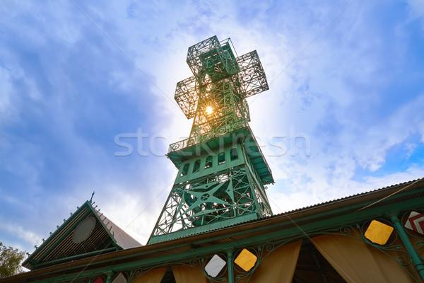 Josepskreuz Joshep Cross in Stolberg Harz  Stock photo © lunamarina