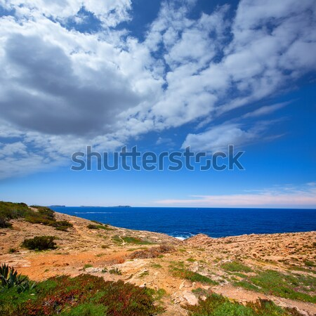 Ibiza Satorre in San Antonio Abad mediterranean view Stock photo © lunamarina