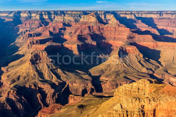 Arizona gün batımı Grand Canyon park nokta ABD Stok fotoğraf © lunamarina