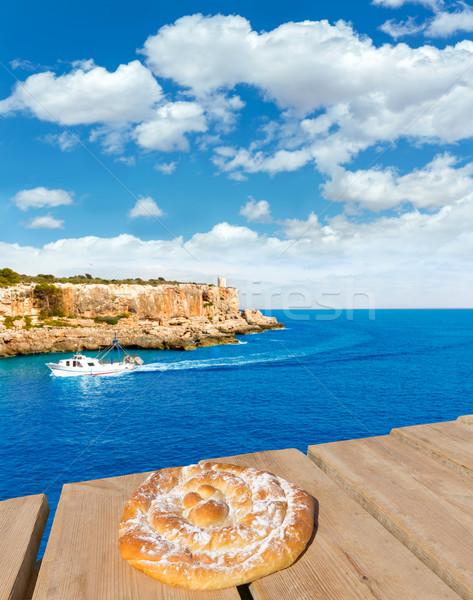 Majorca Cala Figuera in Santanyi Mallorca Balearic Stock photo © lunamarina