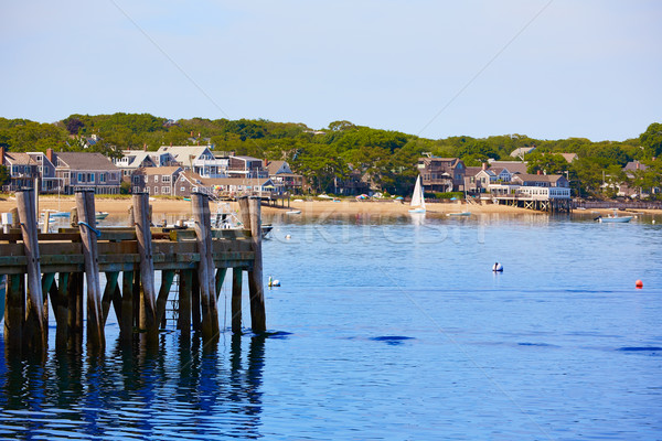 Cape Cod Provincetown port Massachusetts US Stock photo © lunamarina