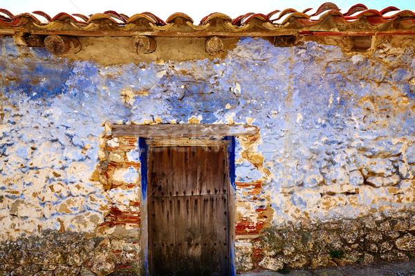 El Boixar village in Tinenca Benifassa of Spain Stock photo © lunamarina