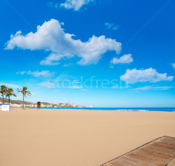 Cullera Sant Antoni beach San Antonio in Valencia Stock photo © lunamarina