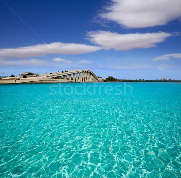 Flórida ilha ponte EUA praia oceano Foto stock © lunamarina