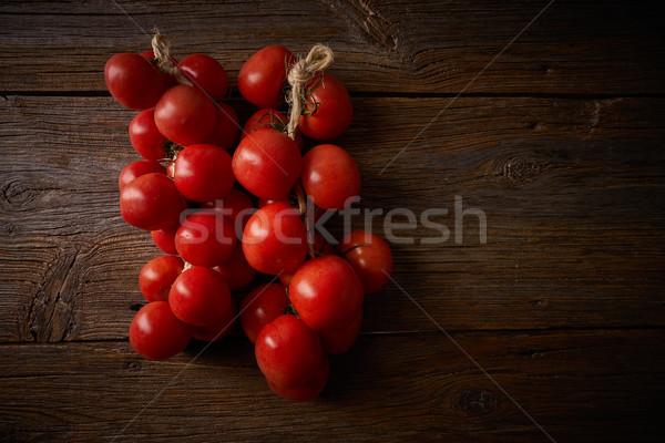 Impiccagione pomodori speciale pane salute Foto d'archivio © lunamarina
