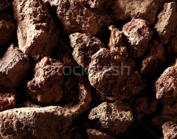 Roug stones texture. Studio macro shot Stock photo © lunamarina
