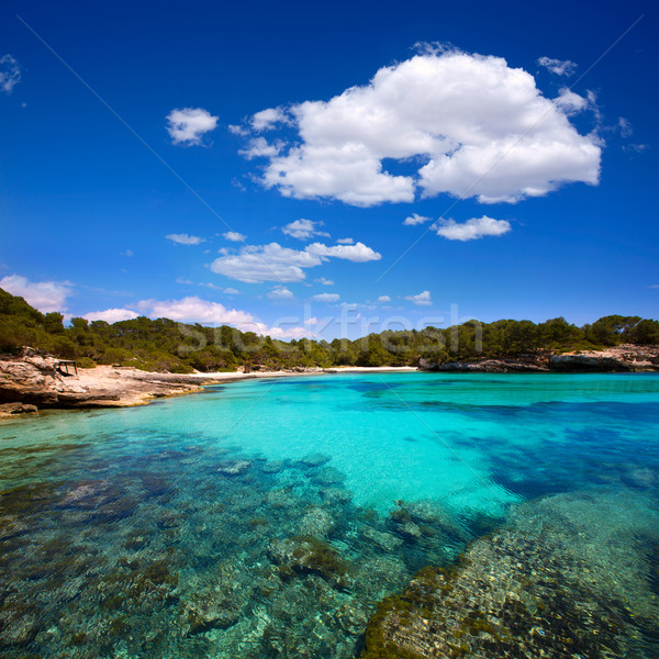 Mediterraneo turchese cielo acqua sole mare Foto d'archivio © lunamarina
