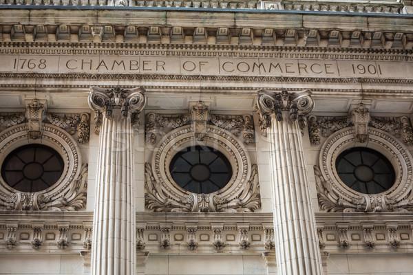 Manhattan New York chamber of commerce US Stock photo © lunamarina