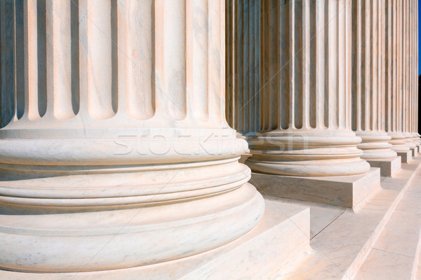 Supreme Court of United states columns row Stock photo © lunamarina