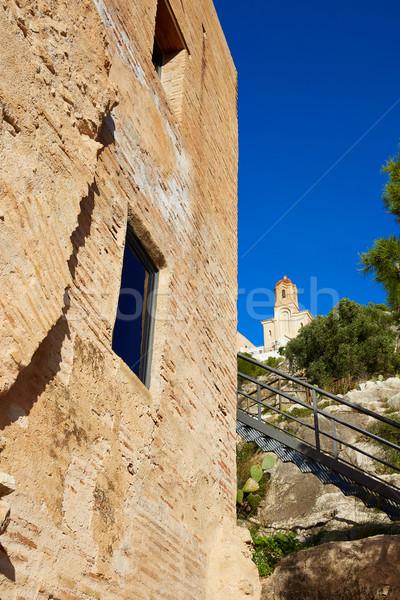 La toren Valencia Spanje berg reizen Stockfoto © lunamarina