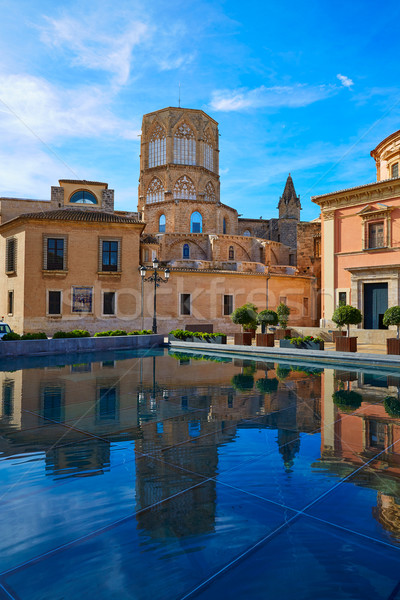 Valencia Basilica Desamparados and Cathedral Stock photo © lunamarina
