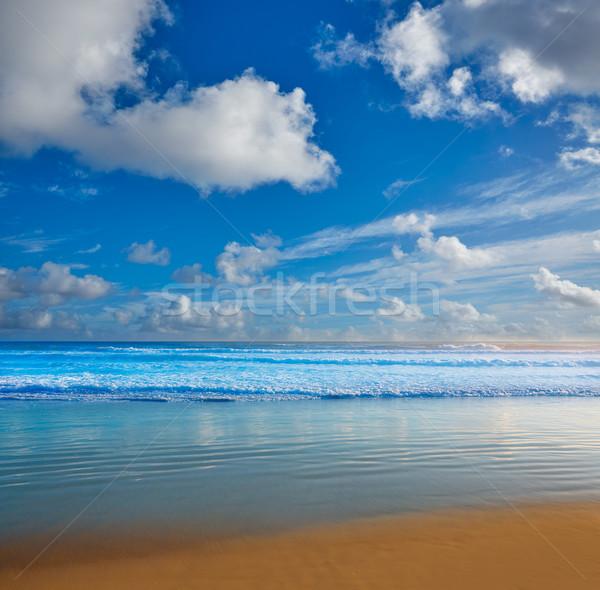 Tengerpart Florida part USA hullámok víz Stock fotó © lunamarina