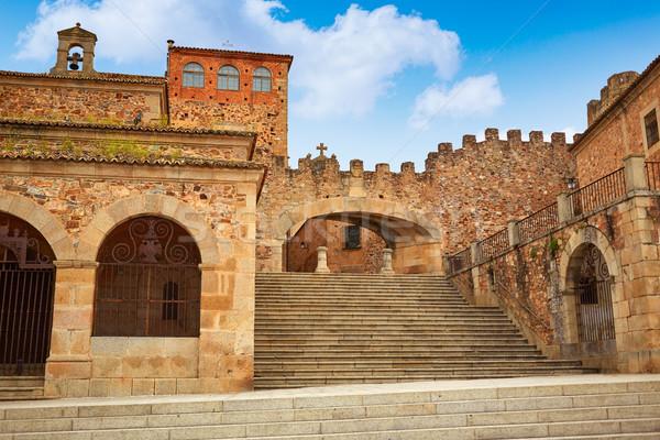 La boog Spanje star entree monumentaal Stockfoto © lunamarina