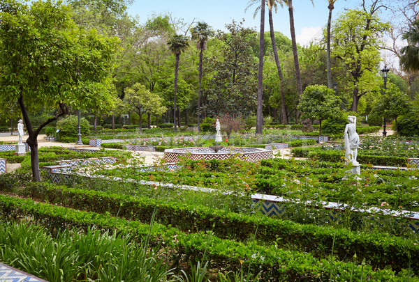 公園 庭園 スペイン アンダルシア 市 自然 ストックフォト © lunamarina