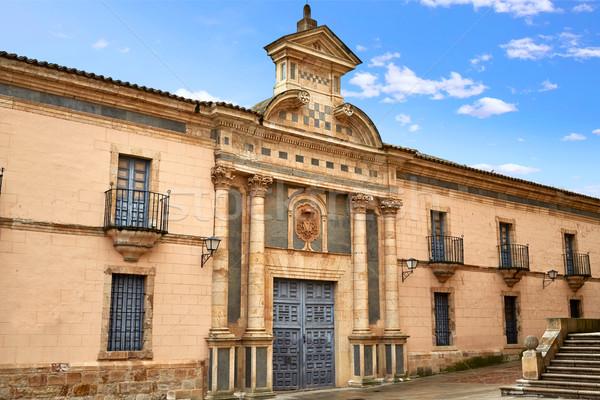 Bina İspanya şehir mimari tatil Stok fotoğraf © lunamarina