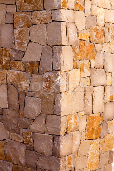 Foto stock: Alvenaria · stonewall · canto · pormenor · trabalhar · textura