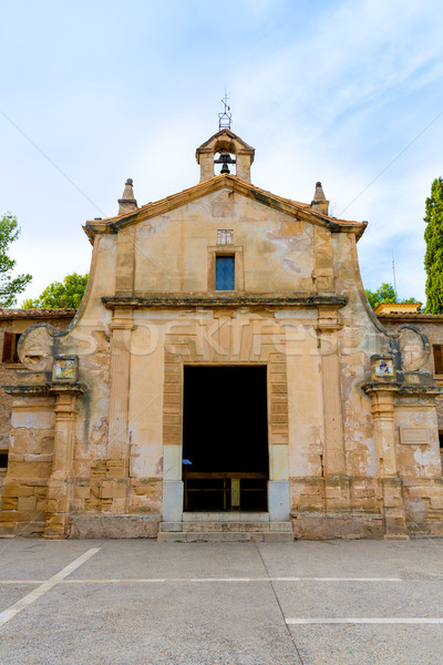 Majorca esglesia del Calvari church Pollenca Pollensa Stock photo © lunamarina