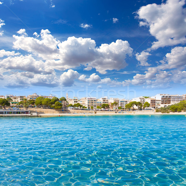 Praia mallorca ilha Espanha céu água Foto stock © lunamarina