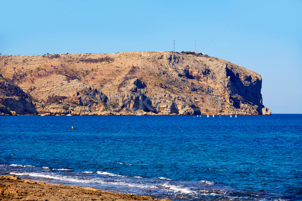 javea Xabia and San Antonio Cape in Alicante Stock photo © lunamarina