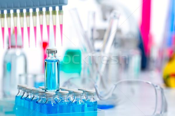 Stok fotoğraf: Kimyasal · bilimsel · laboratuvar · kanal · test
