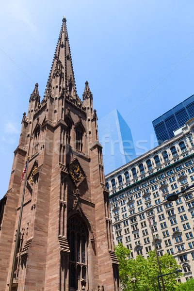 Trinity Church in Manhattan NYC New York USA Stock photo © lunamarina