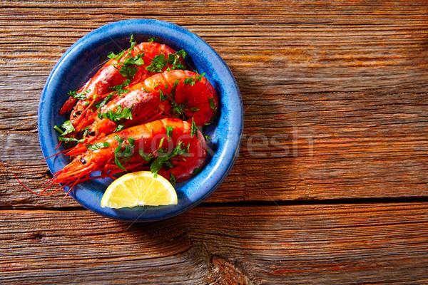 Сток-фото: Тапас · морепродуктов · Испания · рыбы
