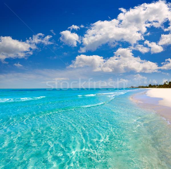 Florida fort plaży USA wody chmury Zdjęcia stock © lunamarina