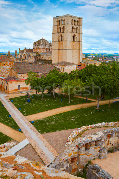 Zamora Cathedral in Spain by Via de la Plata  Stock photo © lunamarina