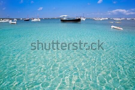 Praia água natureza paisagem fundo verão Foto stock © lunamarina