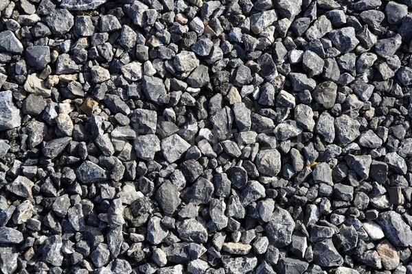 gravel gray stone textures for asphalt mix concrete Stock photo © lunamarina