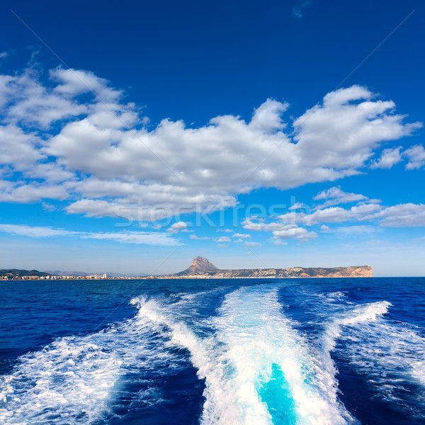 javea with mongo and san antonio cape from boat  Stock photo © lunamarina