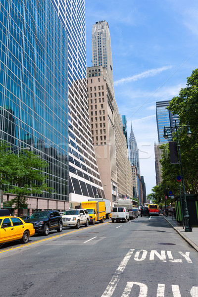 Manhattan New York city Las Americas 6th Av Stock photo © lunamarina