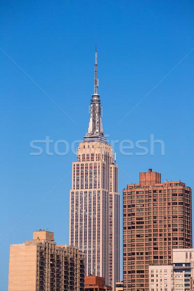 Empire State Building Manhattan New York USA üzlet épület Stock fotó © lunamarina