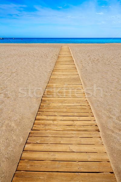 Almeria Cabo Gata San Jose beach Spain Stock photo © lunamarina
