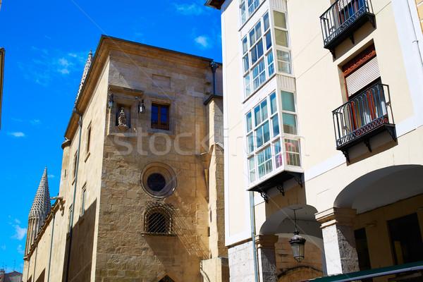 Façon cathédrale saint bâtiment ville église Photo stock © lunamarina