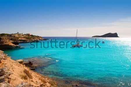 Сток-фото: пляж · Майорка · морем · синий · путешествия