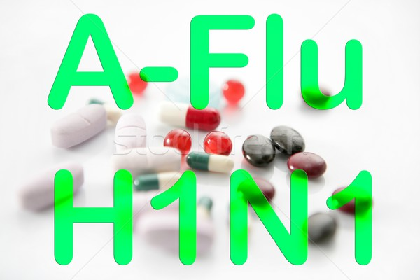 Médecine pilules h1n1 traitement vaccin santé Photo stock © lunamarina